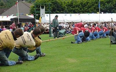 Grampian Highland Games Tug O' War League